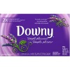 downy lavender serenity scented dryer sheets