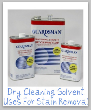 Ultimate Guide To Using Dry Cleaning Solvent Uses For
