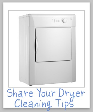 dryer cleaning