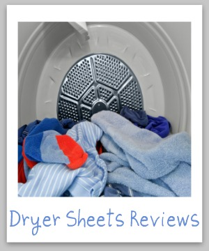 Dryer sheets reviews, plus ultimate guide to fabric softener sheets {on Stain Removal 101}