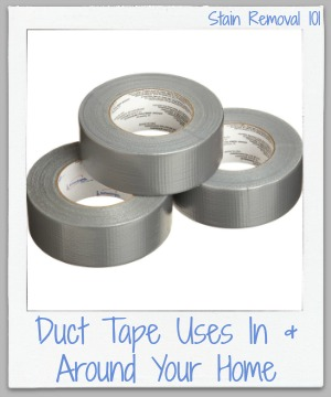 duct tape uses in and around your home