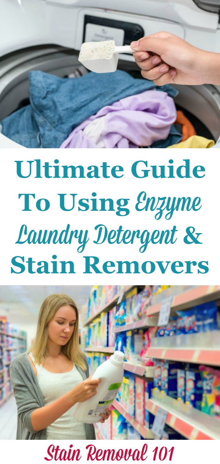 Enzyme Laundry Detergent Amp Stain Removers Facts