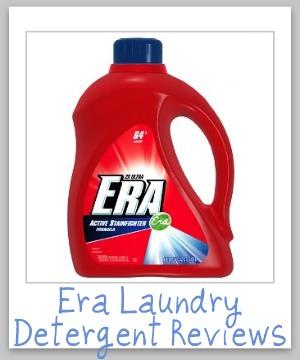 era laundry detergent