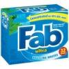 fab powder detergent, rain forest scent