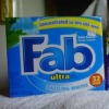 fab ultra powder detergent