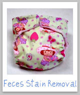 feces stains