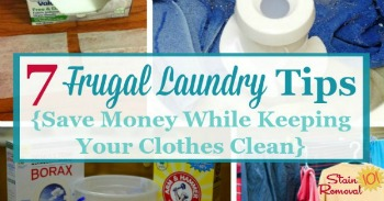 7 frugal laundry tips to save money while keeping your clothes clean