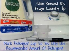 laundry detergent cap