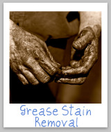 stain removal grease