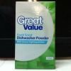 walmart great value dishwasher detergent powder