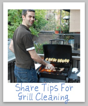 Barbecue Grill Cleaning Tips