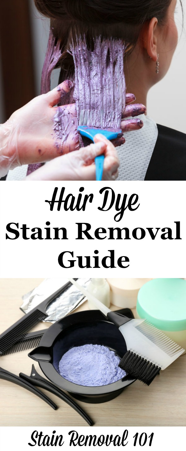 The Ultimate Hair Dye Stain Removal Guide For Clothing Upholstery Carpet Hard Surfaces