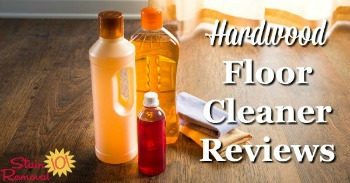 Hardwood floor cleaner reviews