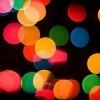 christmas lights macro