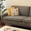 upholstered couch
