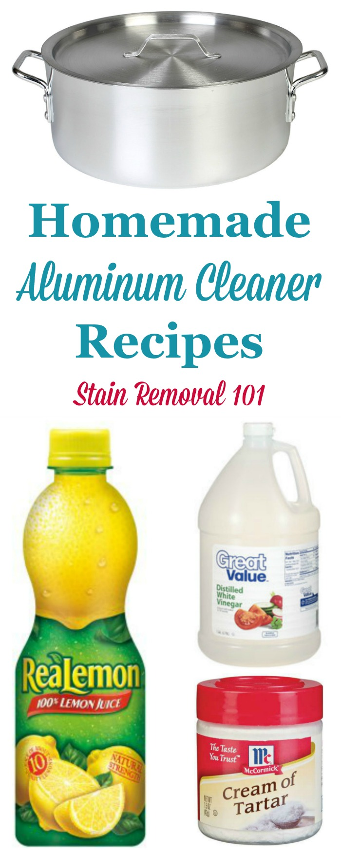 Homemade Aluminum Cleaner Recipes