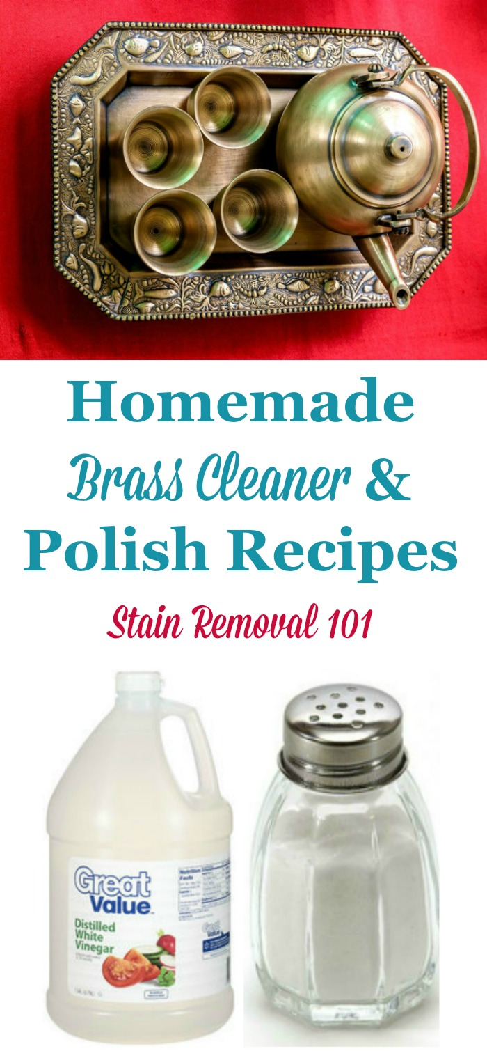 Homemade Brass Cleaner Amp Polish Recipes