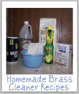 homemade brass cleaner recipe