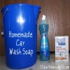 homemade car wash soap ingredients