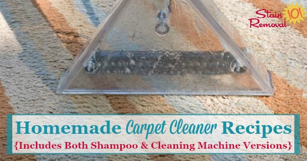Homemade carpet cleaner and homemade carpet shampoo recipes several homemade carpet cleaner recipes including a shampoo for spots as well as two solutioingenieria Gallery