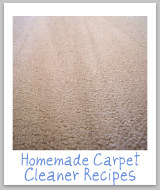 homemade carpet cleaner recipe