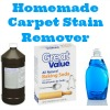 homemade carpet stain remover