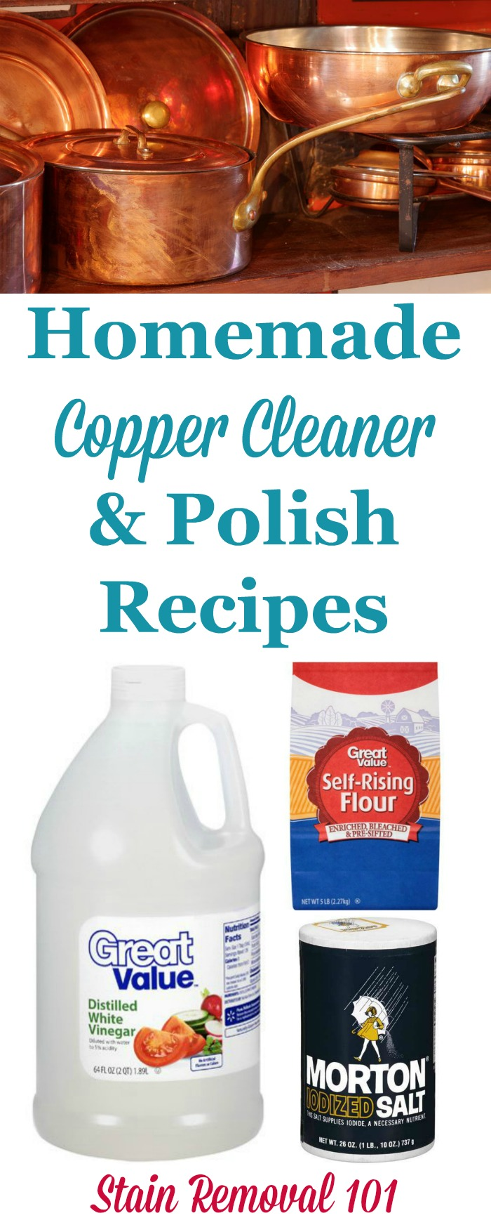 Homemade Copper Cleaner Amp Polish Recipes