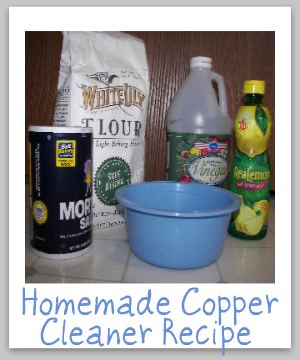 homemade copper cleaner