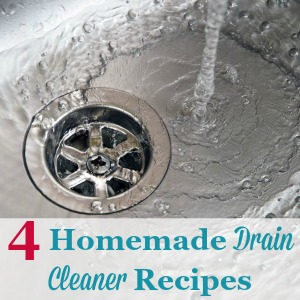 homemade drain cleaner recipes