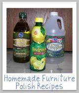 homemade furniture polish ingredients