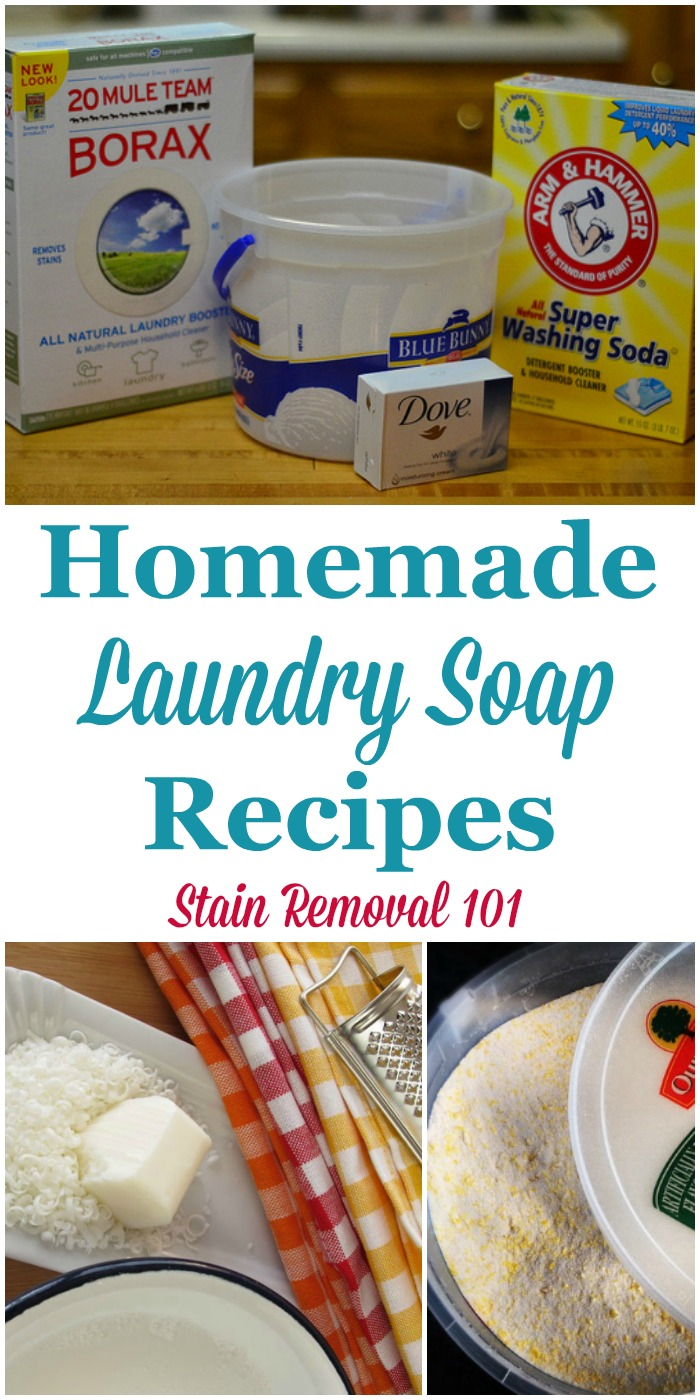 Here is a round up of recipes for homemade laundry soap, including both liquid and ...