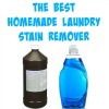 the best homemade laundry stain remover