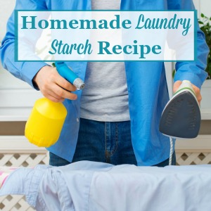 homemade laundry starch
