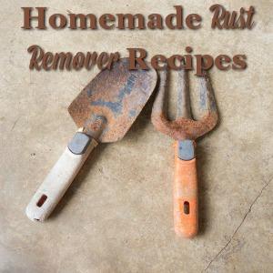 homemade rust remover recipe