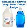 homemade shower soap scum cutter recipe