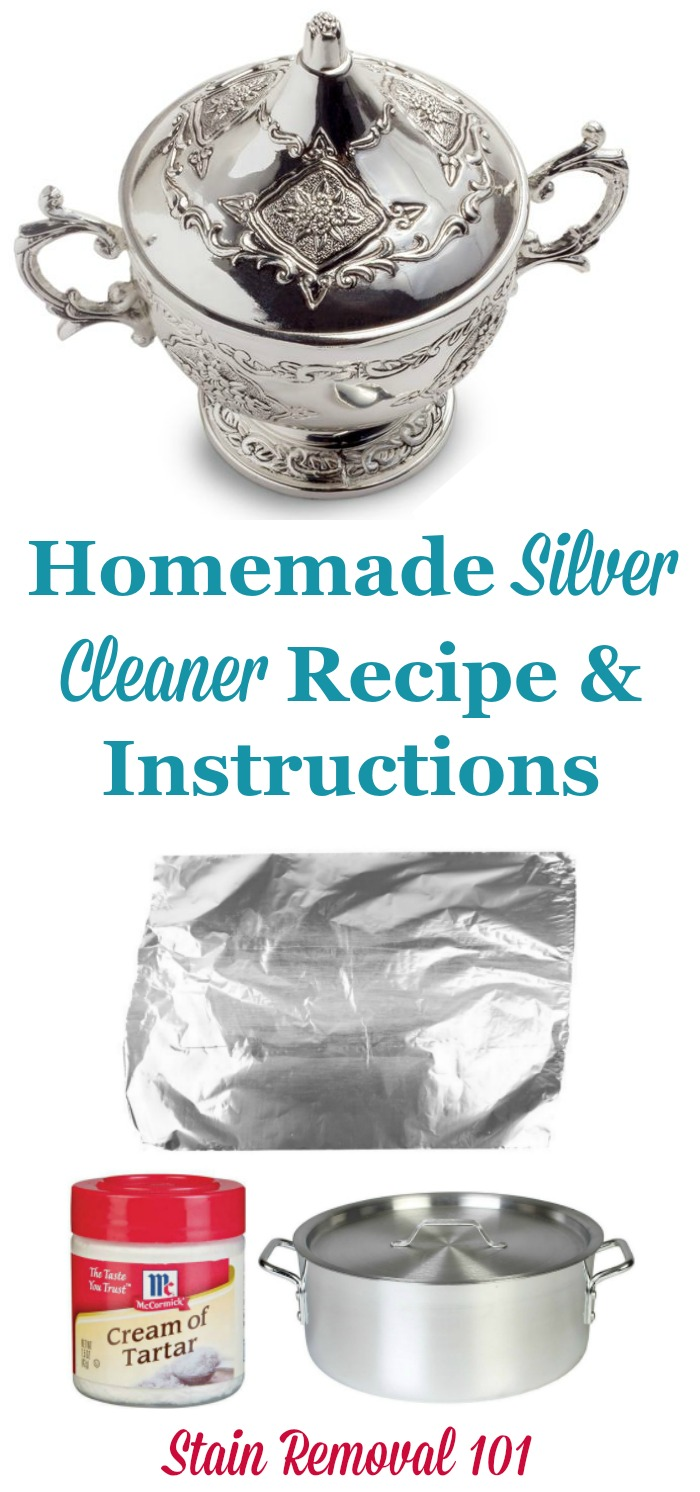 homemade silver cleaner recipe diy silver dip