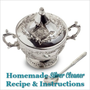 homemade silver cleaner recipe and instructions