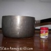 homemade silver cleaner ingredients and equipment