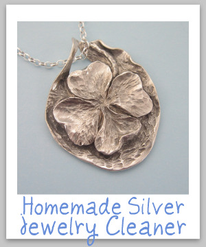 homemade jewelry cleaner silver jewelry cleaner recipe 31090