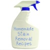 homemade stain removers