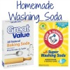homemade washing soda