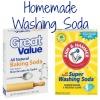 homemade washing soda