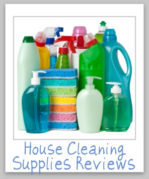 Over 125 house cleaning supplies reviews, for types of products and brand names from {A - H} saying the good, the bad, and everything in between about the cleaning products you use in your home {on Stain Removal 101}