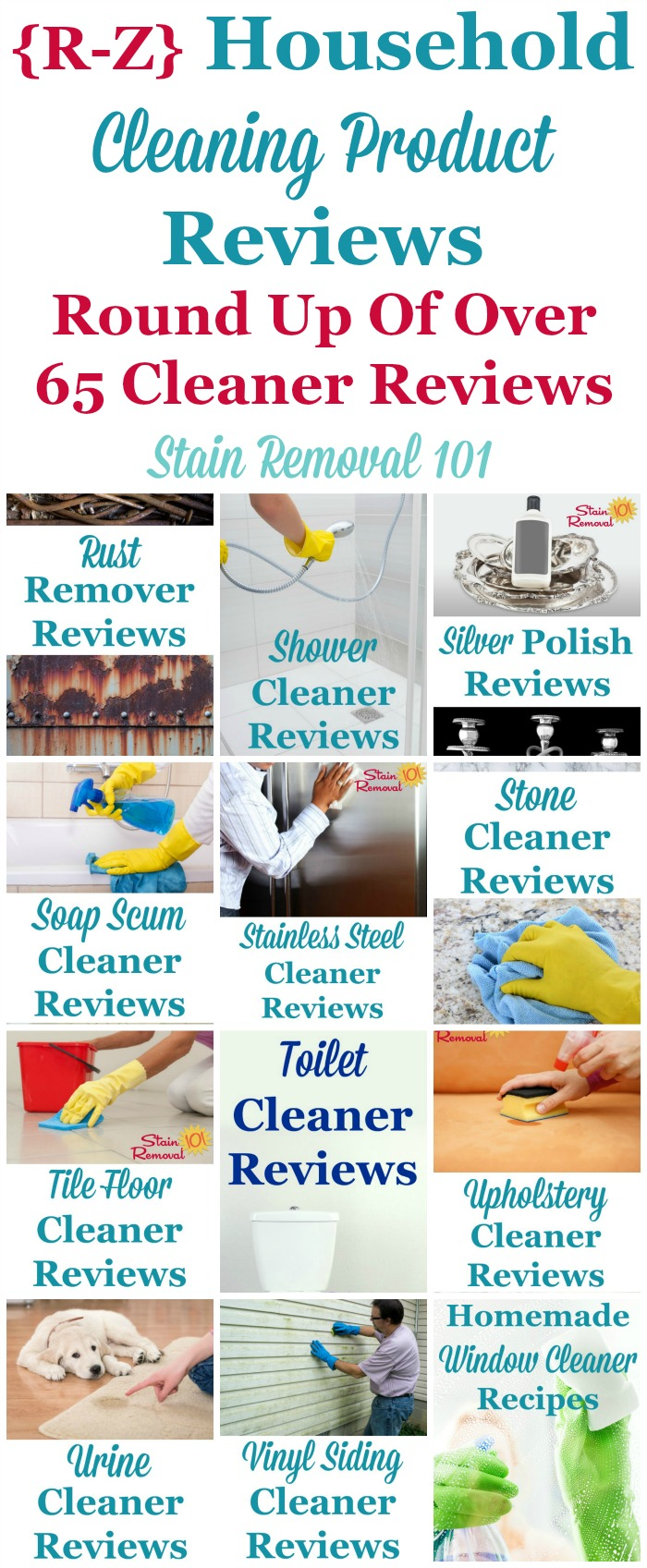 Household Cleaning Products Reviews RZ Cleaners