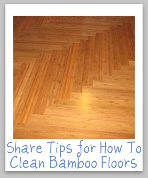 How to clean bamboo floors tips and hints for How to clean floor stains