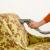 vacuuming upholstery