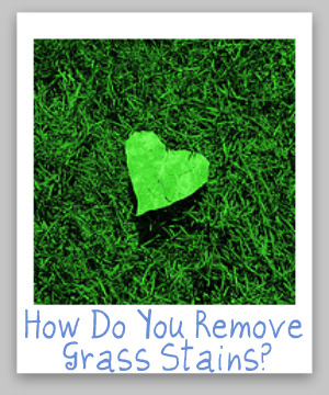 How To Remove Grass Stains Tips And Hints