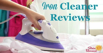 Iron cleaner reviews