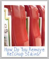 ketchup bottles