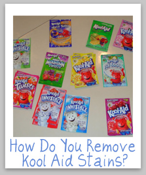 How To Remove Kool Aid Stains From Various Surfaces